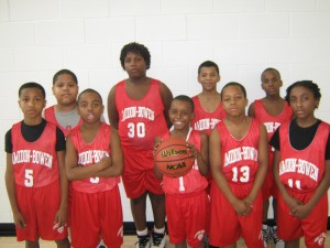 Amidon Bowen Boys' Basketball Team