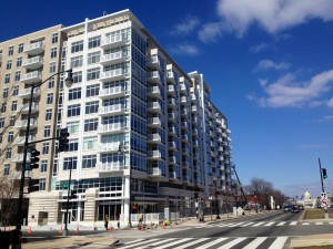 Camden South Capitol at 1345 South Capitol Street, SW is nearing completion. Photo: William Rich