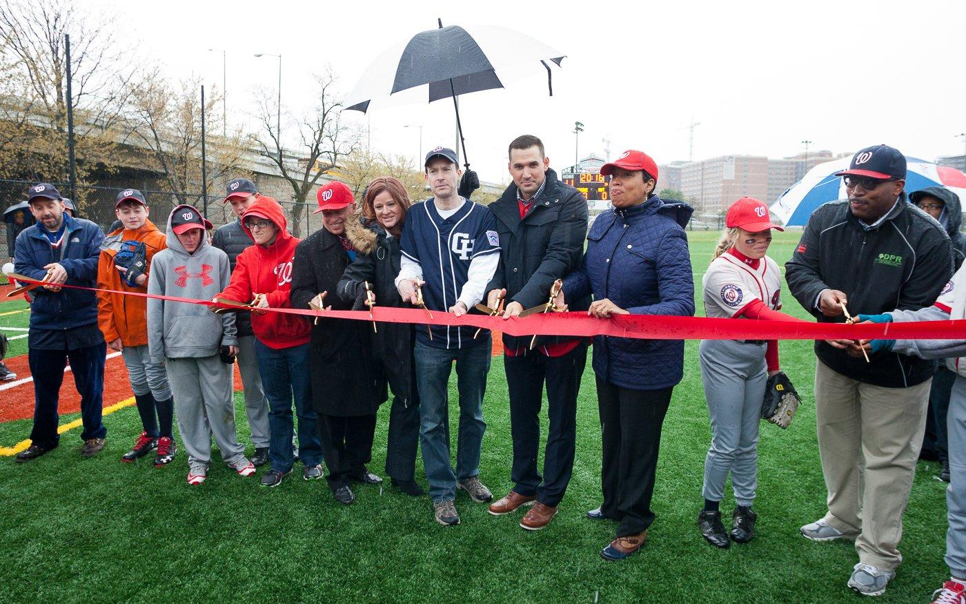 Ryan Zimmerman Field Ribbon Cutting
