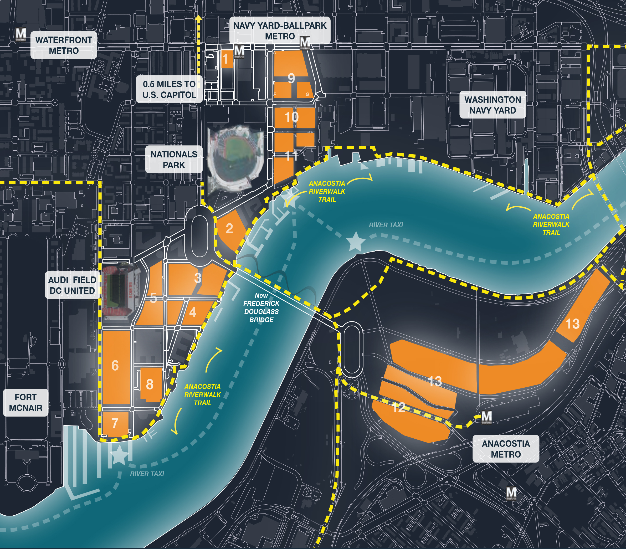 Navy Yard And Buzzard Point Proposed For New Amazon Headquarters